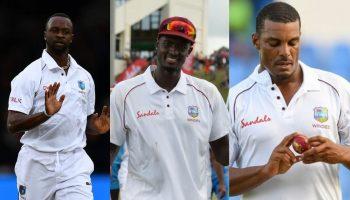 तीन कैरेबियाई गेंदबाज