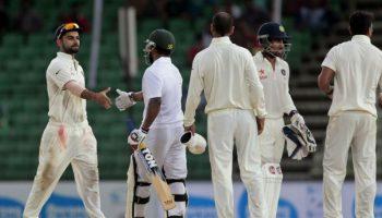 भारत और बांग्लादेश सभी टेस्ट