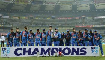 भारत ने जीता टी-20 सीरीज