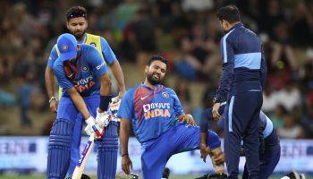 रोहित शर्मा टीम इंडिया चोटिल