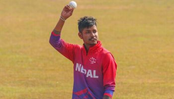 वनडे क्रिकेट का न्यूनतम स्कोर संदीप लामिछाने