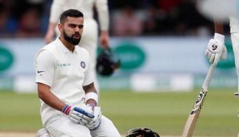 एक ही टेस्ट मैच में शतक व डक
