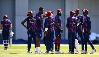 West Indies warm-up