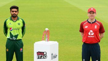 कोरोना काल में इंग्लैंड व पाकिस्तान के बीच खेली जाएगी पहली टी-20 सीरीज