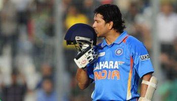 आज के दिन सचिन ने पूरे किए थे अंतरराष्ट्रीय क्रिकेट में अपने 100 शतक