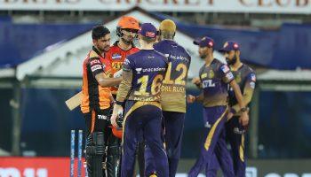 केकेआर कोलकाता ने हैदराबाद को 10 रन से हराया